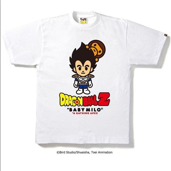 d669f093 Bape Shirts   X Dragonball Z Goku Tshirt White Large   Poshmark